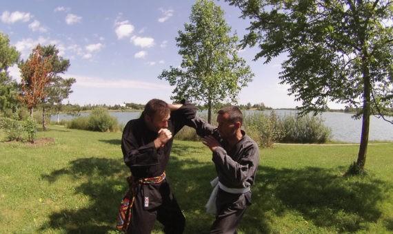 Séance d'entraînement Penchak-Silat à Toulouse (Juin 2014)