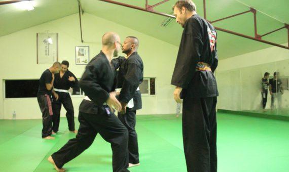 Séance d'entraînement Penchak-Silat à Montpellier (Novembre 2014)